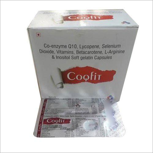 Co-Enzyme Q10, Lycopene L-Arginine And Inositol Soft Gelatin Capsule
