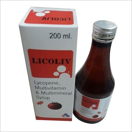 200 ML Lycopene Multivitamin And Multimineral Syrup