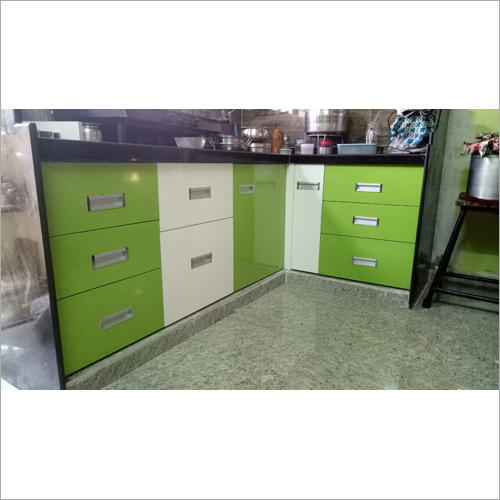 Modular L Shape Kitchen