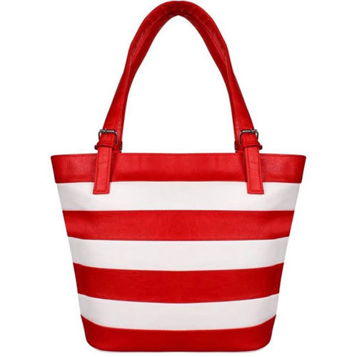 Red Shoppers Bag