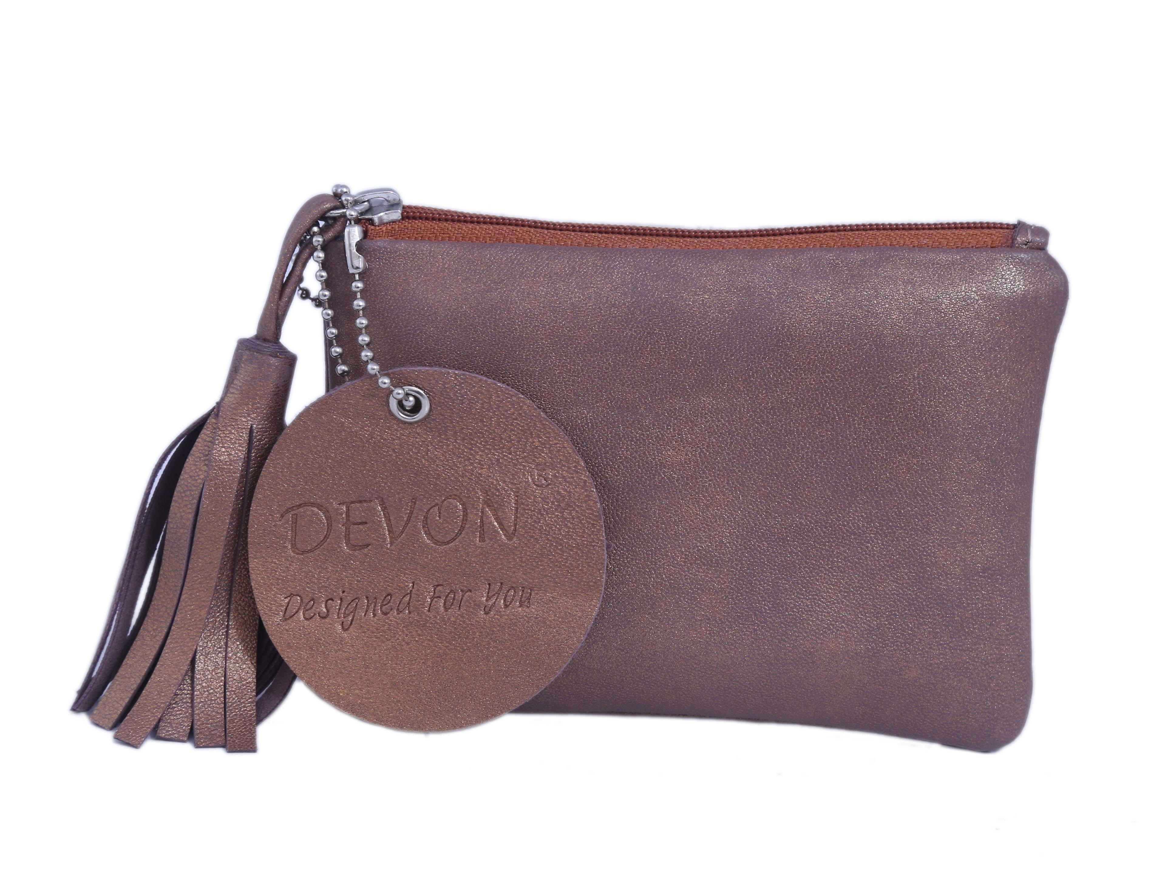 Tassel Zipper  Small Wallet