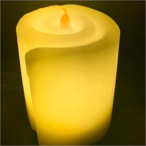 Roll Wax LED Candle