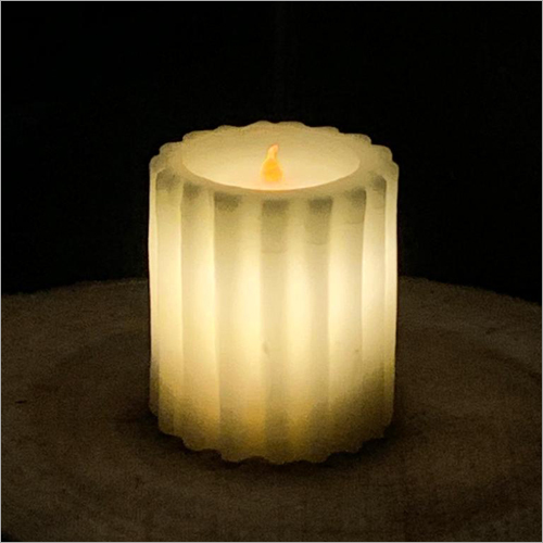 Savitur Ribbed LED Candle