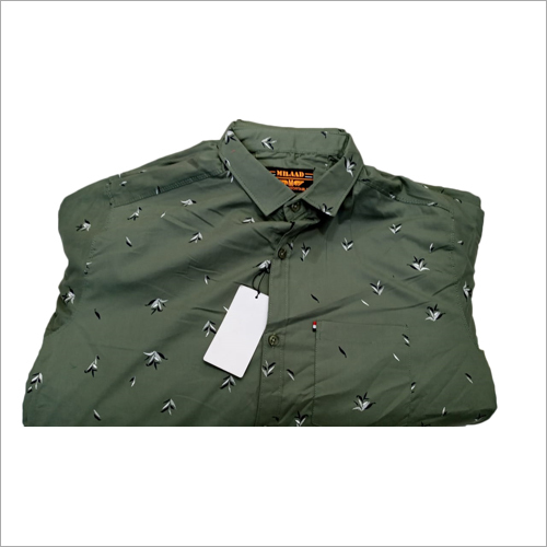 Mens Casual Printed Shirts
