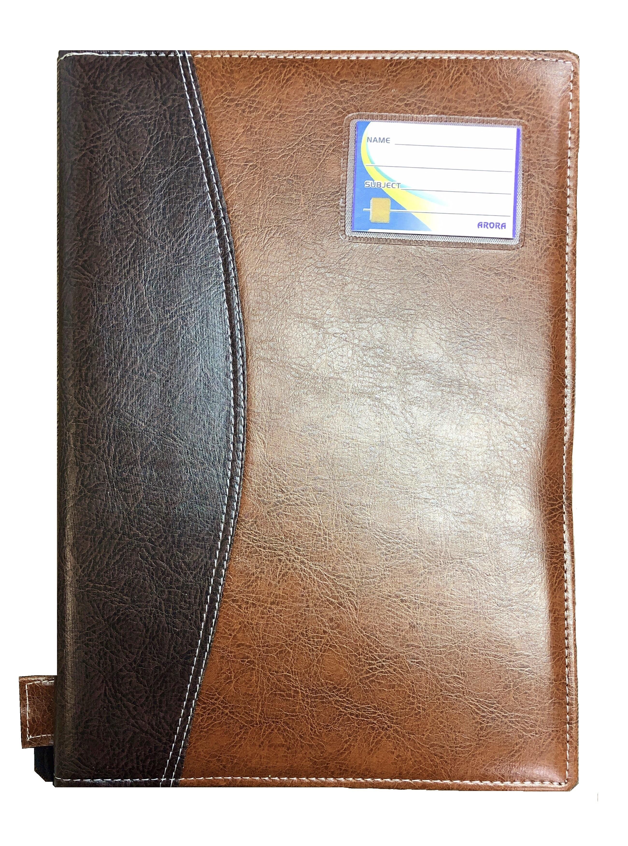 Leather Document Folder, B4 Size