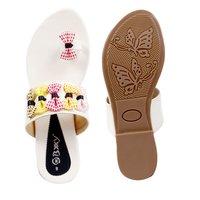 Ladies Non Leather Sandals