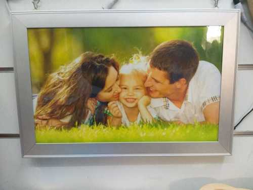 LED Aluminum Customized Photo Frame
