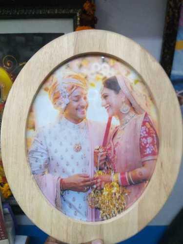 LED Wooden Designer Photo Frame