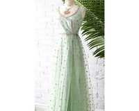 Net Fabric Gown