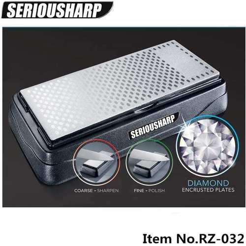 Double Sided Diamond Sharpening Stone (400/600Grit)