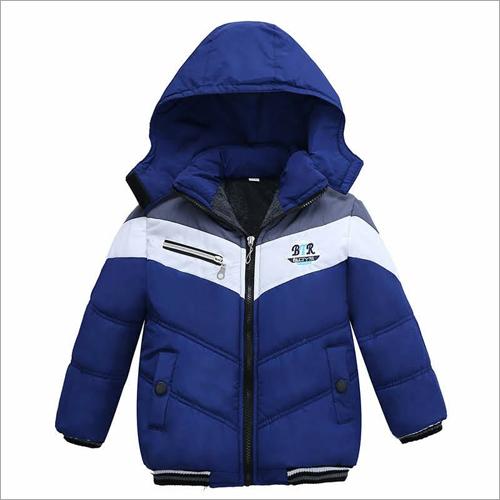 Kids Puffer Zipper Jacket