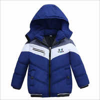 Kids Puffer Zipper Jacket