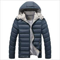 Mens Puffer Hooded Jacket