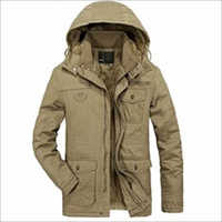 Mens Winter Warm Jacket