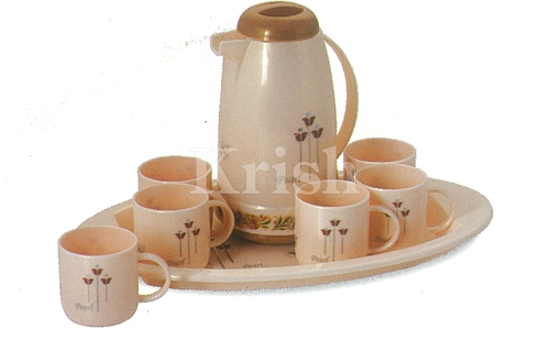 Pearl Tea set-8 Pcs