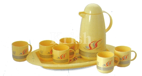 Flora Tea Set- 8 Pcs