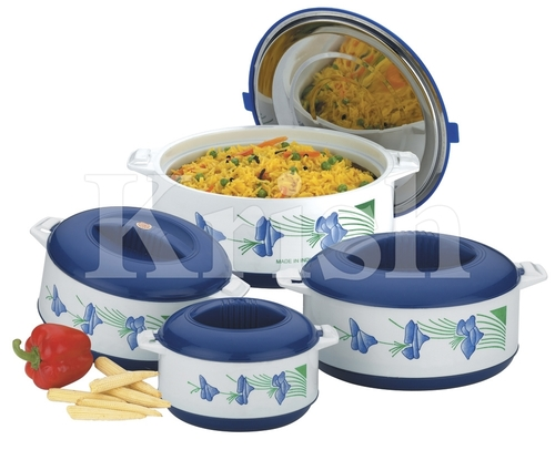 Diamond Hot Pot/ Casserole Set - 4 Pcs