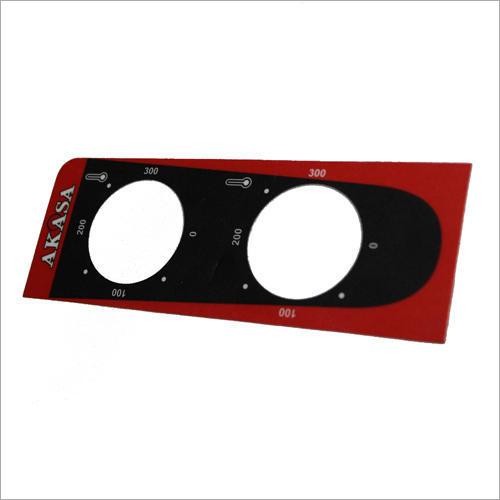 Control Panel Sticker