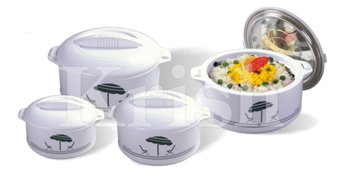 King Hot pot / Casserole Set- 4 Pcs