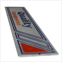 Aluminum Custom Name Plate
