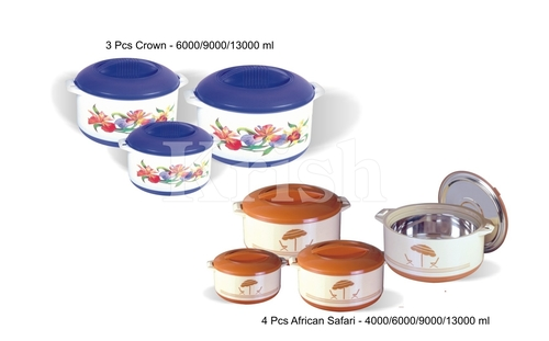 Jumbo Hot Pot / Casserole Set 3 & 4 Pcs Set