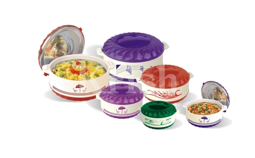 Crown Hot pot /Casserole Set - 4  pcs