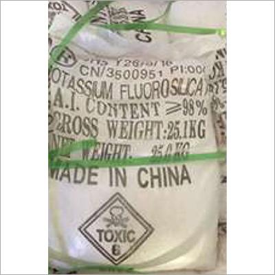 Potassium Silicofluoride Crystal Powder