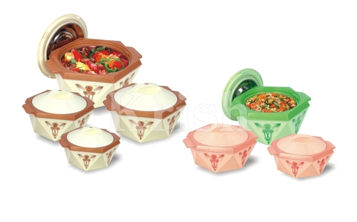 Chocolate Hot Pot / Casserole 3 & 4 Pcs Set
