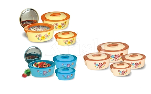 Oval Hot Pot / Casserole 3 & 4 Pcs set