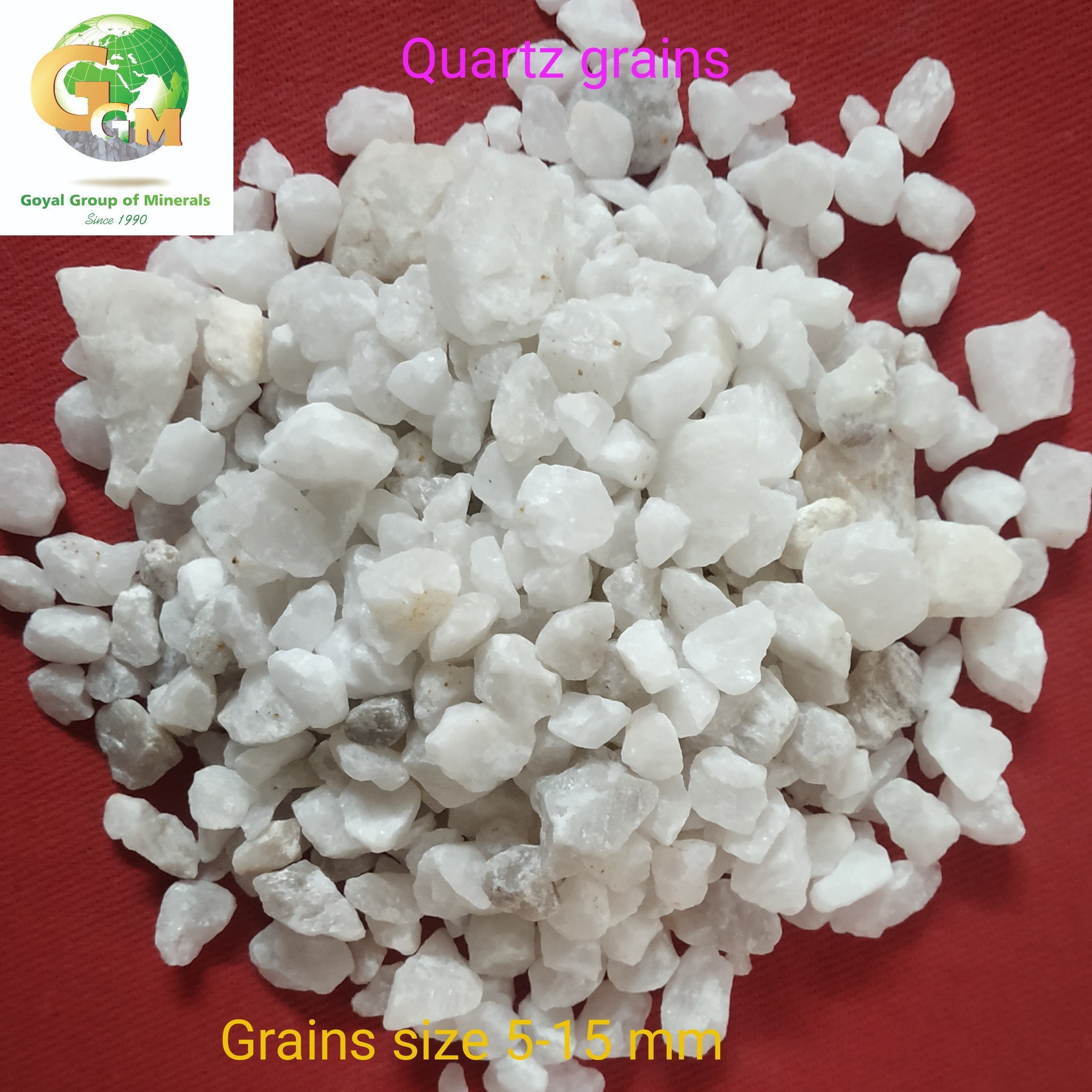 10 mm Large Size Quartz Grain