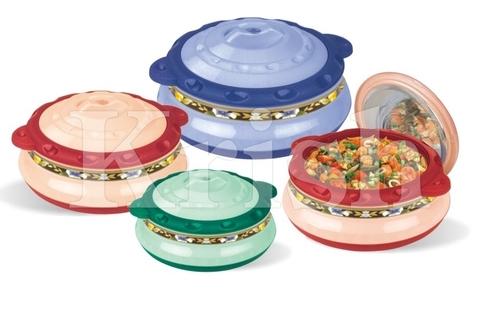 Crazy Hot Pot / casserole 2,3 & 4 pcs set