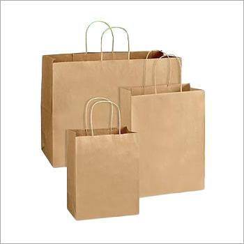 Plain Shopping Paper Bag