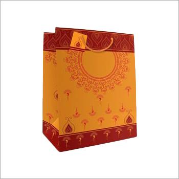 Rope Handle Gift Printed Paper Bag