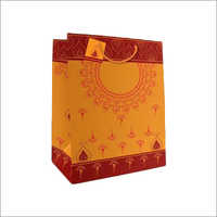 Rope Handle Gift Printed Paper Bag