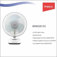 IMPEX Solar Rechargeable Fan (BREEZE D3)