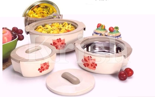 Regular Triumph Hot Pot / Casserole 3 & 4 Pcs set
