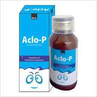 Aceclofenac 50 mg & Paracetamol 125 mg Syrup