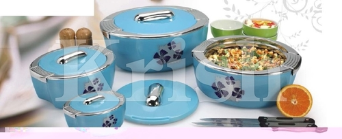 Deluxe Triumph Hot Pot / Casserole 3 & 4 Pcs set