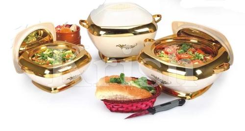 Deluxe Square Hot pot / casserole 3 & 4 Pcs set