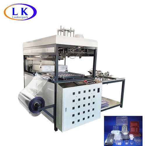 Small fully automatic blister forming machine