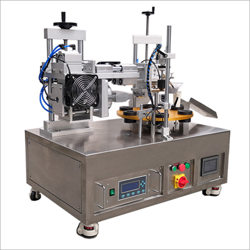 Turn Table Style Automatic Ultrasonic Plastic Tube Welding Machine