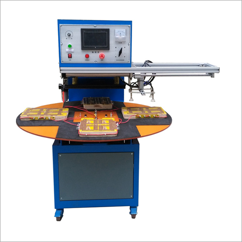 4 Working Stations Blister Sealing Machine