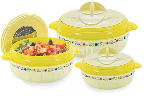 Cresent Hot /Pot /Casserole 3 Pcs Set