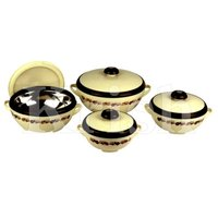Buffer Hot Pot / Casserole 3 Pcs Set