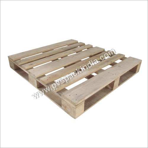 4 Way Design Pine Wood Pallet