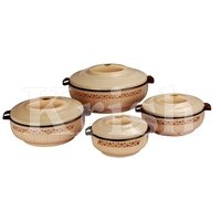 Lotus Hot Pot / Casserole 3 & 4 Pcs set