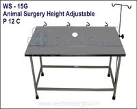 Animal Surgery Height Adjustable