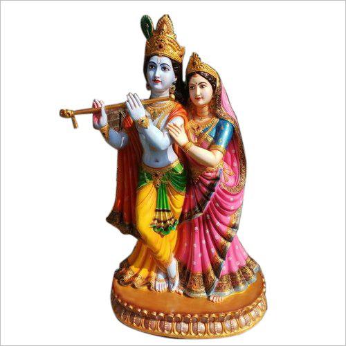 Radha Krishna Skulptur