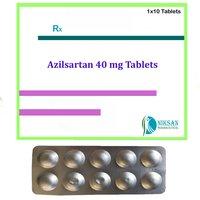 Azilsartan 40mg Tablets