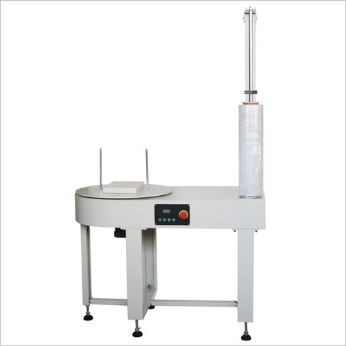 Semi Auto Box Stretch Wrapping Machine